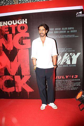 Arjun Rampal Spotted At First Look Launch Of D - DAY