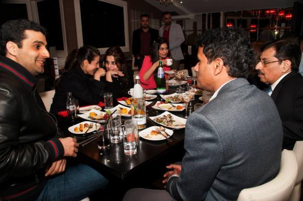 Ameesha And Puja Gupta At CHAK 89 Restaurant For Shortcut Romeo Promotion