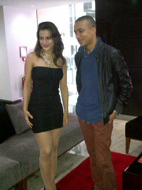 Ameesha Patel Looks Sexy During The Promotional Event Of Shortcut Romeo