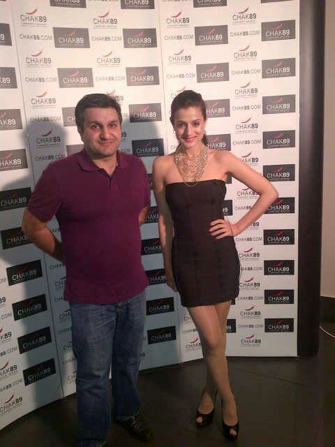 Ameesha Patel Pose To Photo Shoot At CHAK 89 Restaurant
