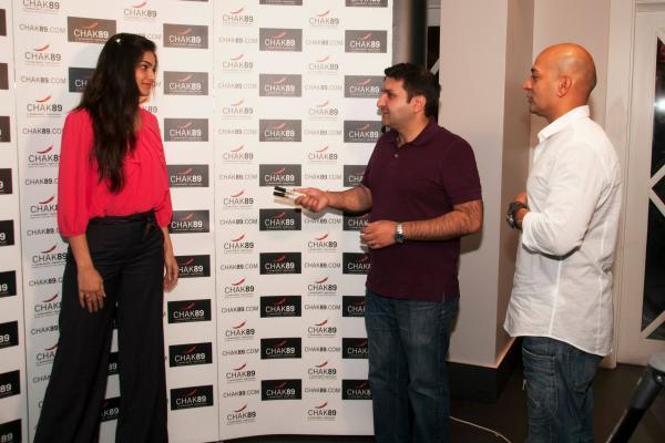 Puja Gupta At CHAK 89 Restaurant For Her Upcoming Flick Shortcut Romeo Promotion