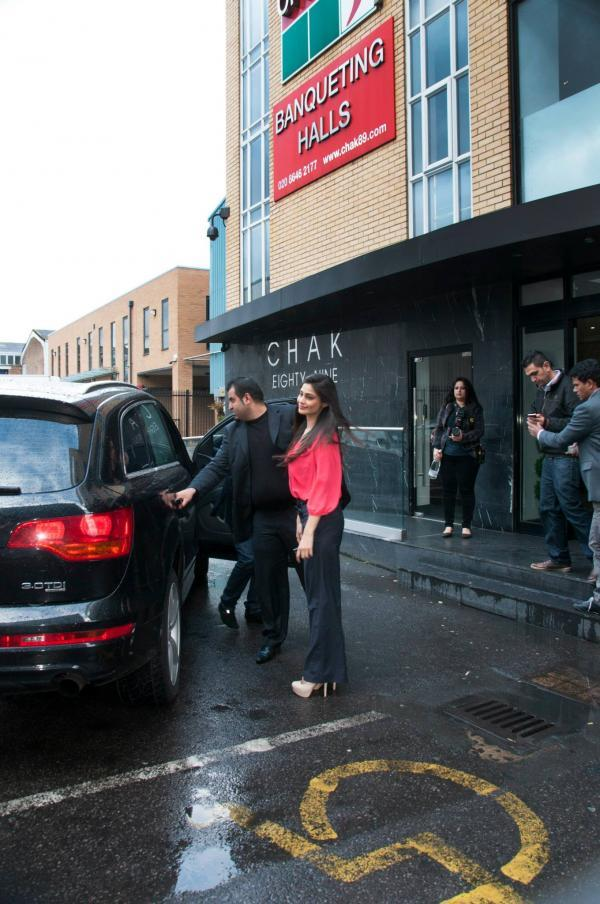Puja Gupta Return From  CHAK 89 Restaurant After The Promotion Of Shortcut Romeo