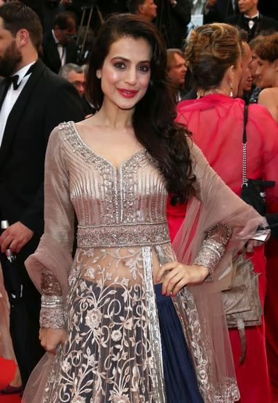 Ameesha Patel Attend The Screening Of All Is Lost At The Cannes Film Festival