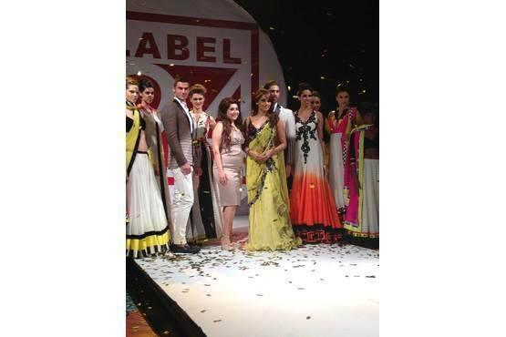 Actress Bipasha Walks The Ramp For Designer Archana Kochhar's Fashion Show Label 24 Event