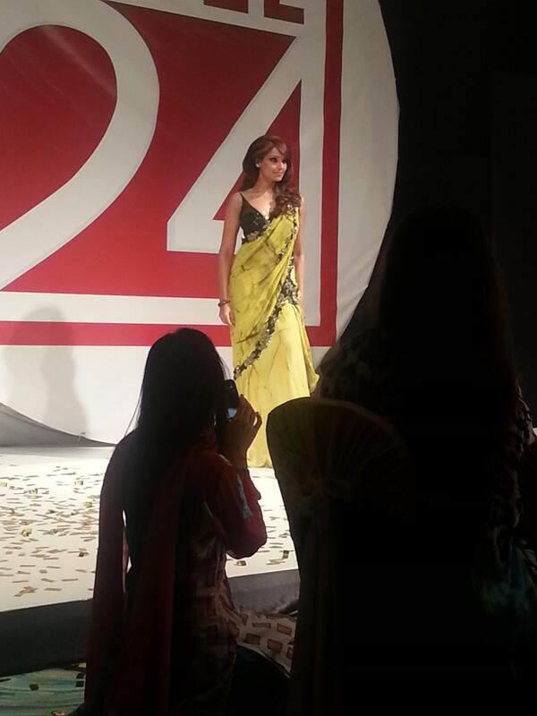 Indian Actress Bipasha Basu Walks The Ramp For Designer Archana Kochhar's Fashion Show At Atlantis