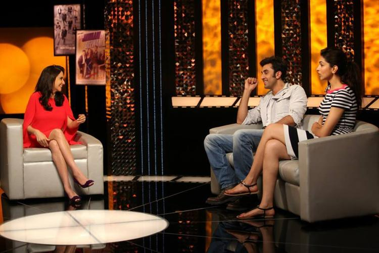 Ranbir,Deepika Discussed With Anupama On The Front Row Show