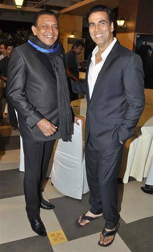 Akshay And Mithun Strikes A Pose During The Music Launch Event Of Enemmy