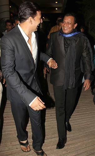 Akshay Kumar And Mithun Still At Music Launch Of Enemmy