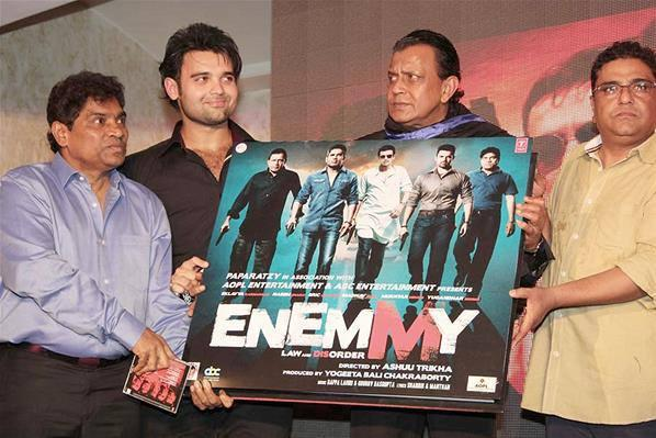 Mahaakshay,Mithun And Johnny Launches Enemmy Movie Music