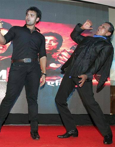 Mithun And Mahaakshay Performs At Music Launch Event Of Enemmy