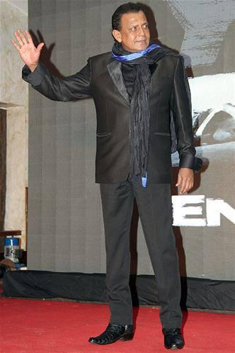 Mithun Chakraborty A Pic From Music Launch Of Enemmy