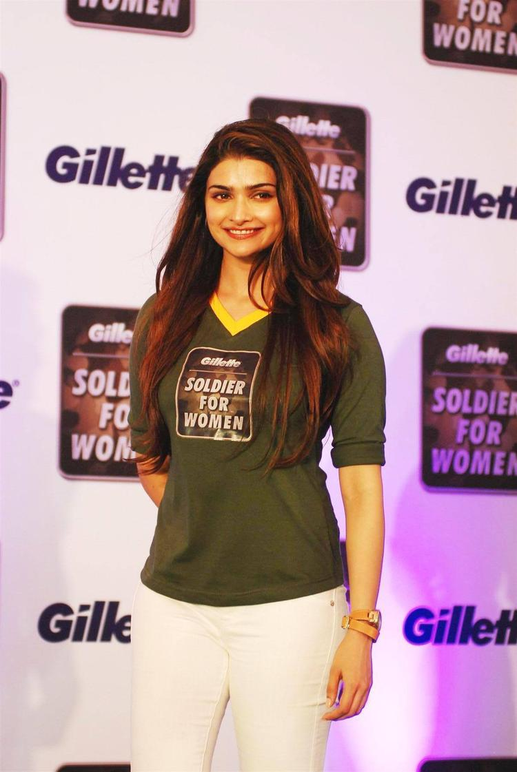 Gorgeous Beauty Prachi Desai Spotted The Function Organised By Gillette Soldier For Women Campaign