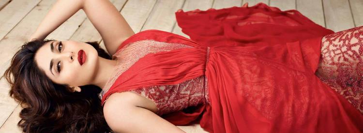 Kareena Kapoor Khan Red Dress Hot Beautiful Photo Shoot For Marie Claire