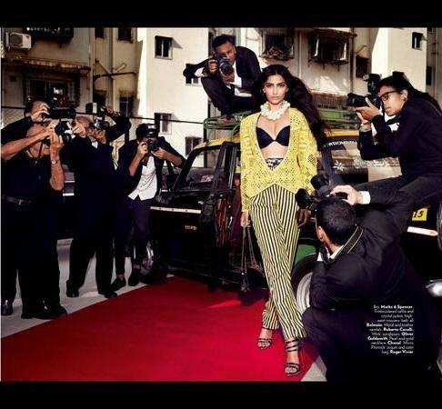 Sonam Kapoor Latest Hot Photo Shoot For Vogue June 2013