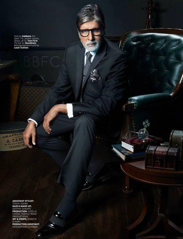 Bollywood Megastar Amitabh Bachchan Shoot For GQ Magazine 2013