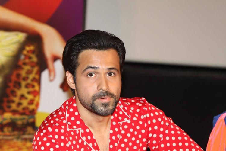 Emraan Hashmi At The Music Launch Of Ghanchakkar Song Lazy Lad