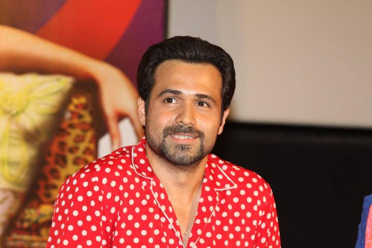 Emraan Hashmi Smiling Look At The Music Launch Of Ghanchakkar Song Lazy Lad