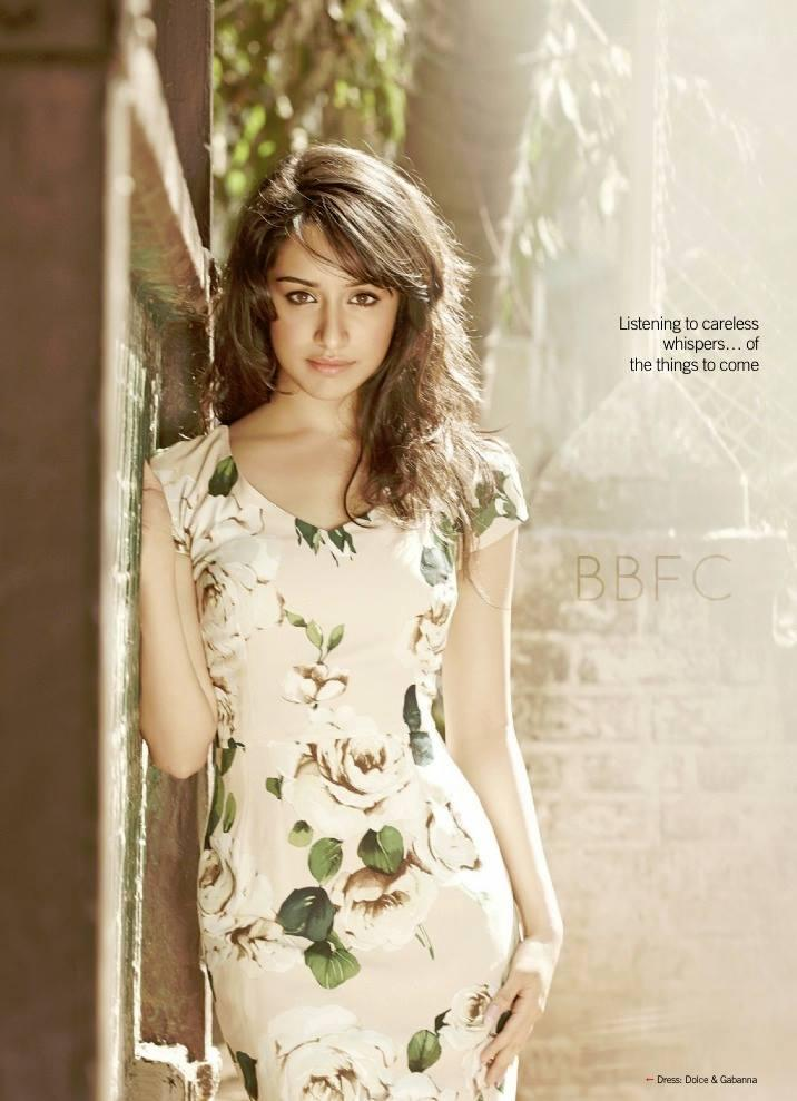 Shraddha Kapoor Glamour Look Photo Shoot For Filmfare June 2013