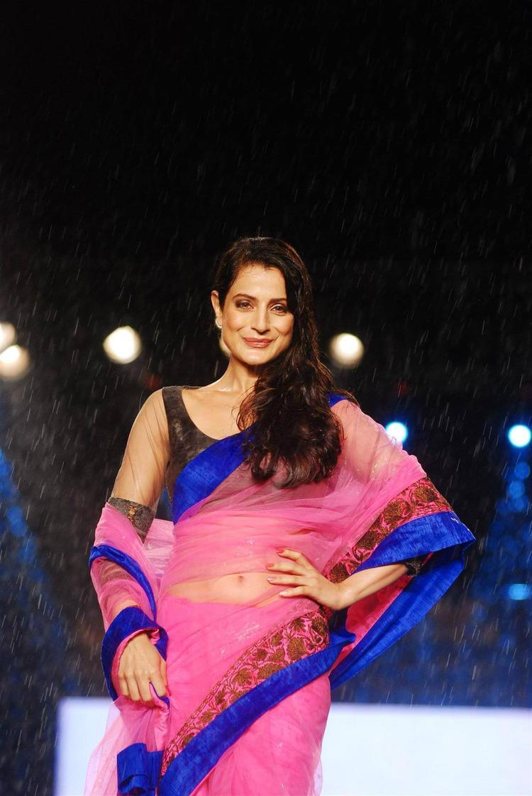 Ameesha Patel Sweet Nice Still On Ramp At 8th Annual CPAA Fashion Show