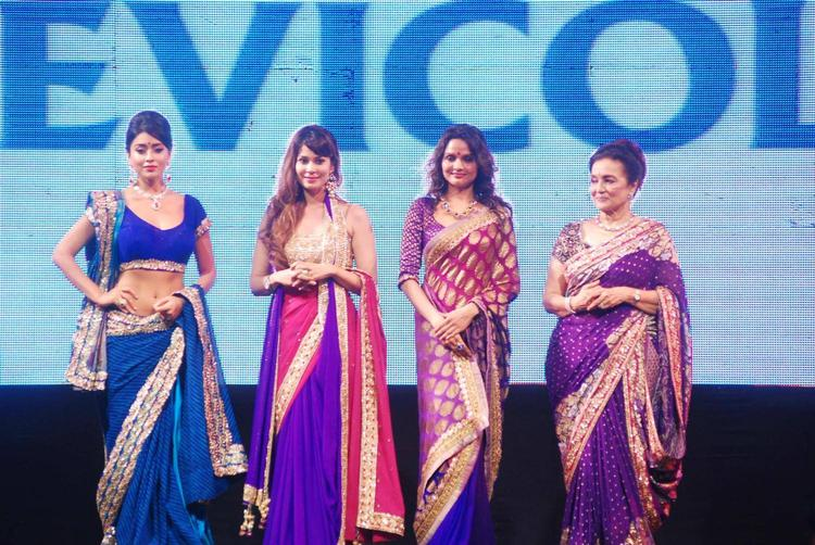 Asha Parekh,Shriya Saran And Madhoo At 8th Annual CPAA Fashion Show