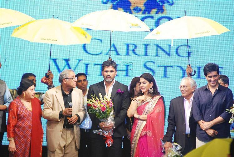 Sunil And Shaina At 8th Annual CPAA Fashion Show