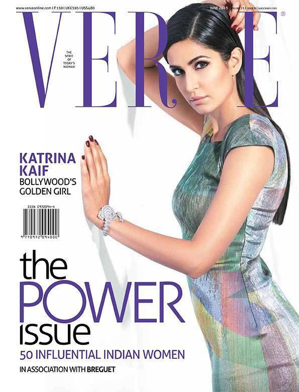 Katrina Kaif On The Cover Of Verve Magazine