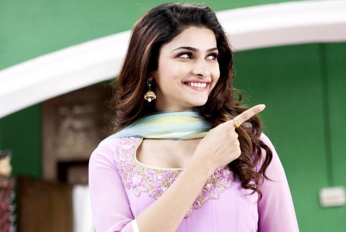 Prachi Desai Cute Smiling Face Look Still In Policegirl