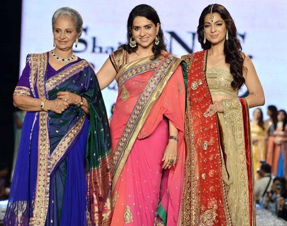 Hot Waheeda,Shriya,Juhi And Shaina NC At 8th Annual CPAA Fashion Show