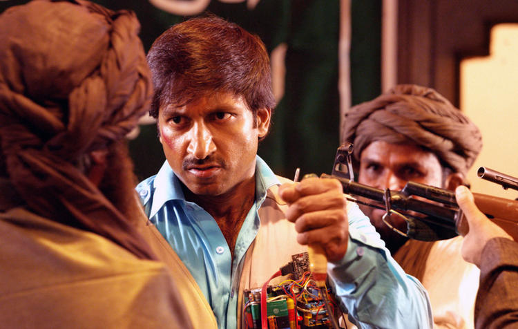 Gopichand A Still From Sahasam Movie