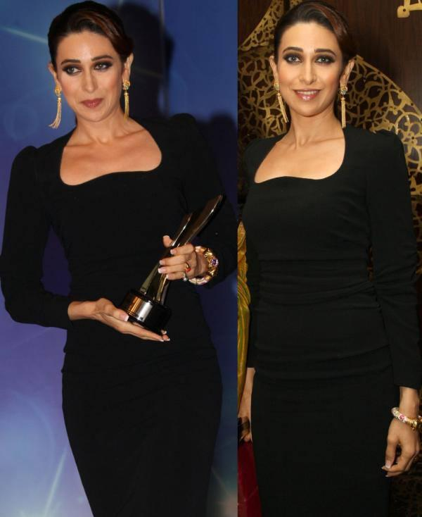 Karishma Kapoor With The NDTV Property Award In New Delhi