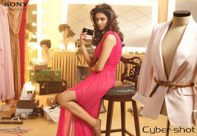 Deepika Padukone Sony Cybershot Photoshoot