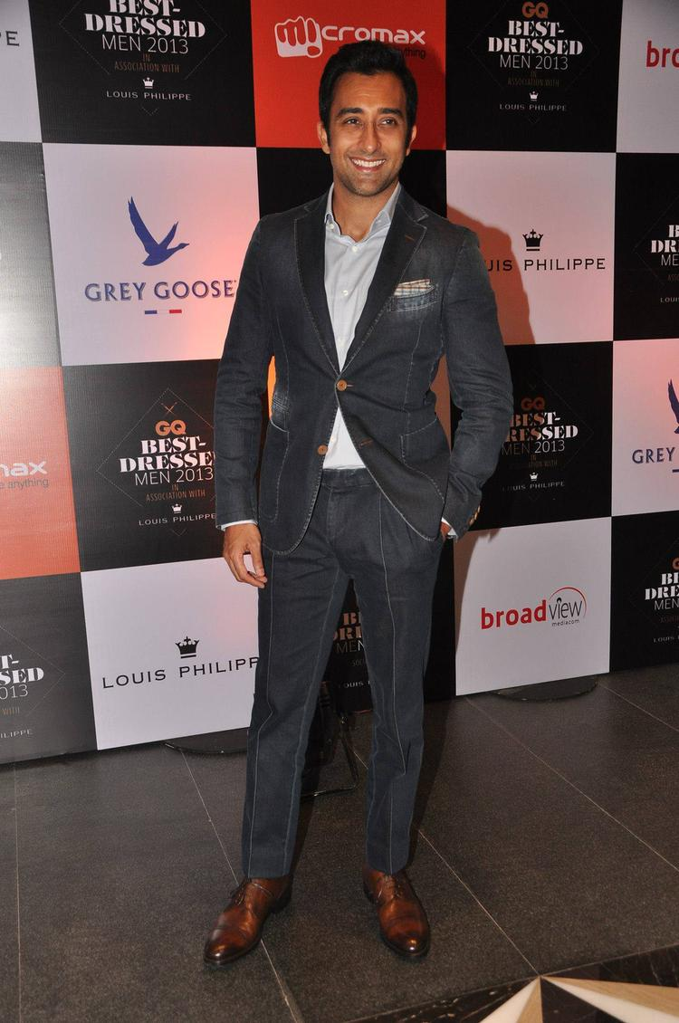 Rahul Khanna Snapped At GQ Best Dressed Party 2013