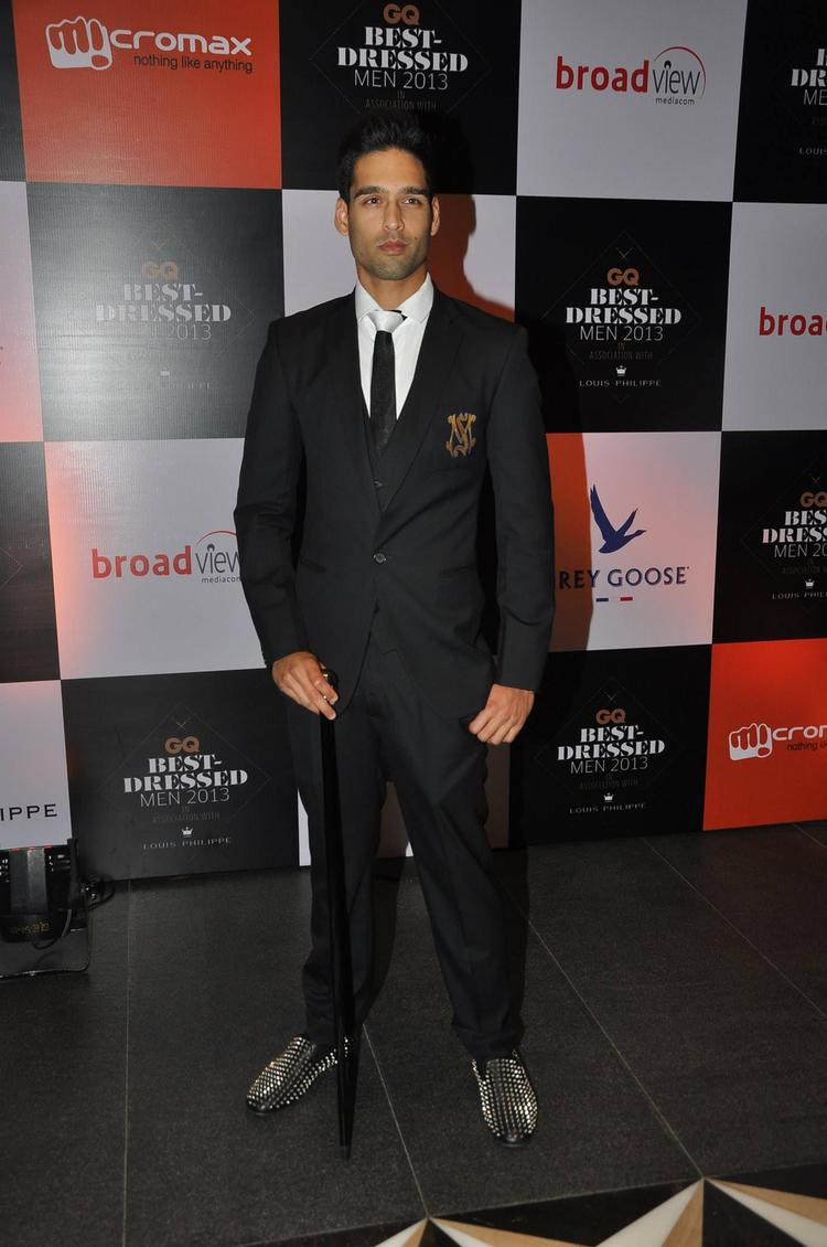 Siddharth Mallya Spotted At GQ Best Dressed Party 2013