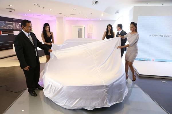 Bollywood Actress Lara Dutta During The Launch Of A Audi Showroom At Pahala In Bhubaneswar