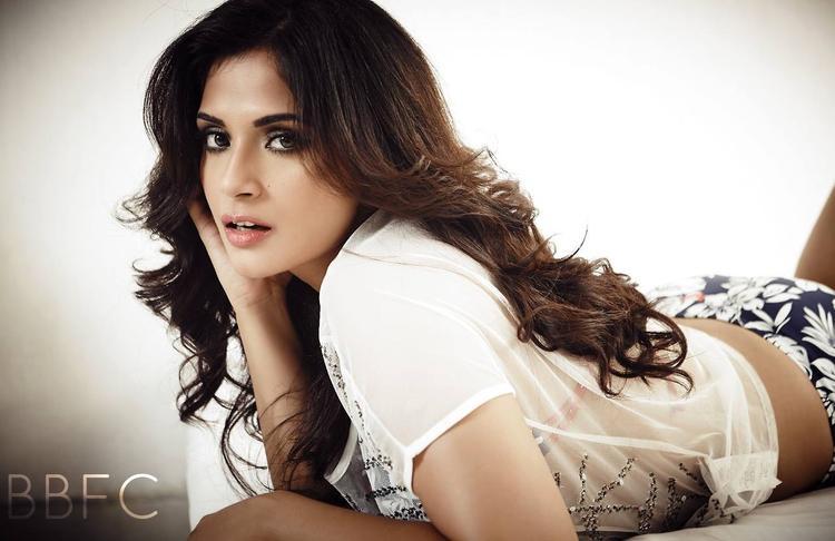 Richa Chadda Strikes A Hot Pose For FHM Magazine