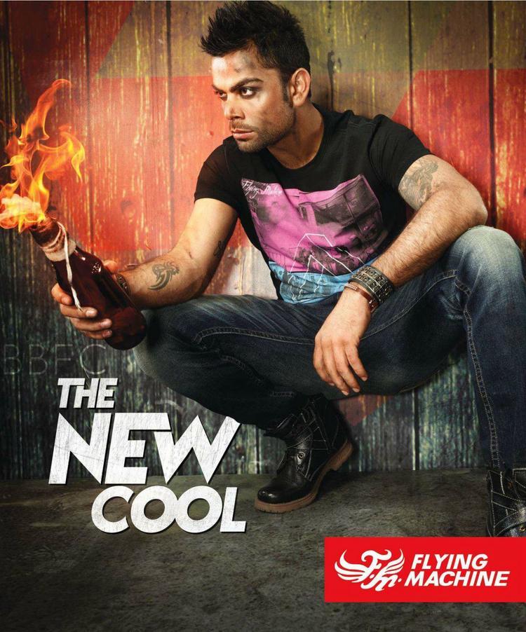 Virat Kohli Latest Shoot For Flying Machine Ad