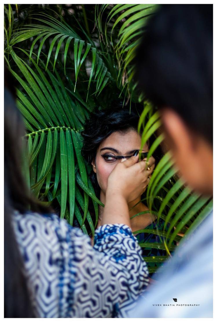 Kajol Devgan Behind Filmfare Photoshoot