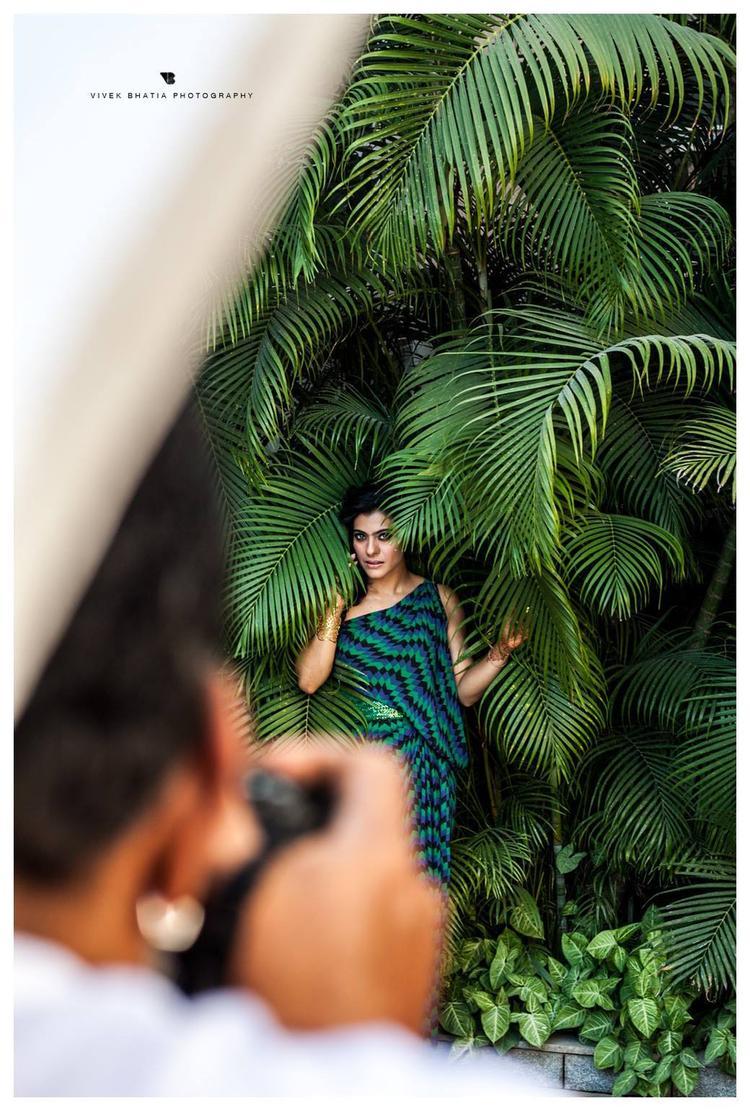 Kajol Devgan Nice Pic Photo Shoot For Filmfare