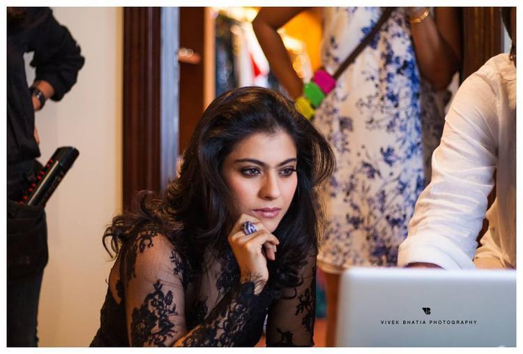 Kajol Devgan On The Sets Of Filmfare Magazine Shoot