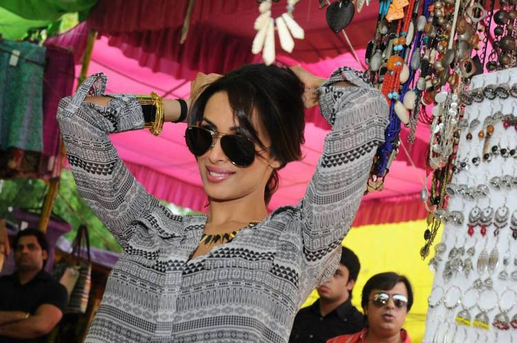 Malaika Arora Khan A Still From Delhi Market