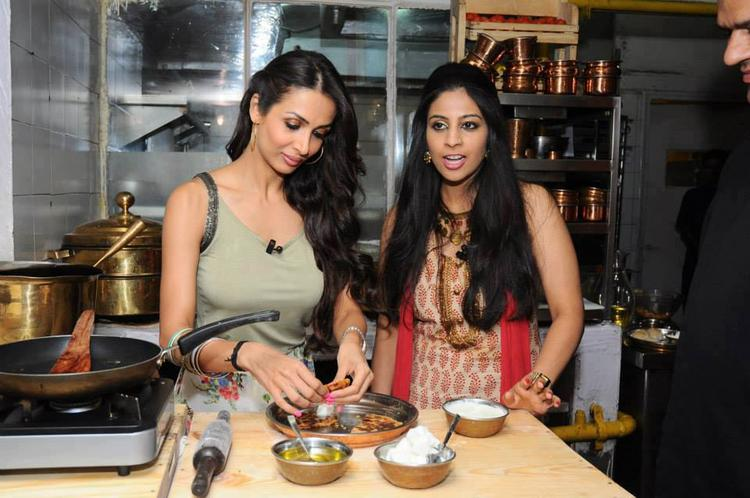 Malaika Arora In Kitchen For Stars In Your City