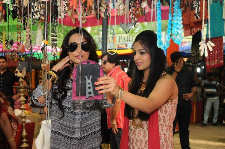 Malaika Ib Delhi Market For Stars in Your City Event