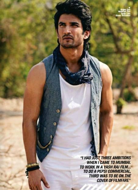 Sushant Singh Rajput Hot Bold Look Photo Shoot For Filmfare June 2013