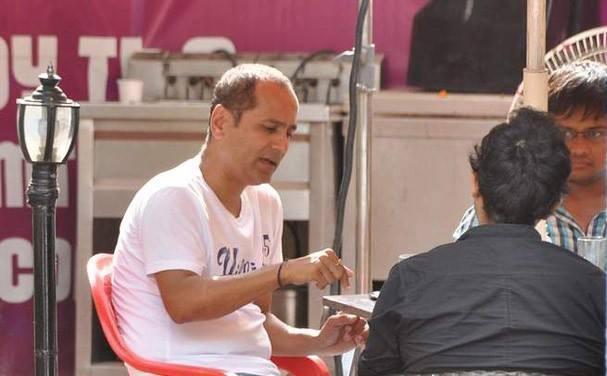 Vipul Shah A Still On The Sets Of Pistol