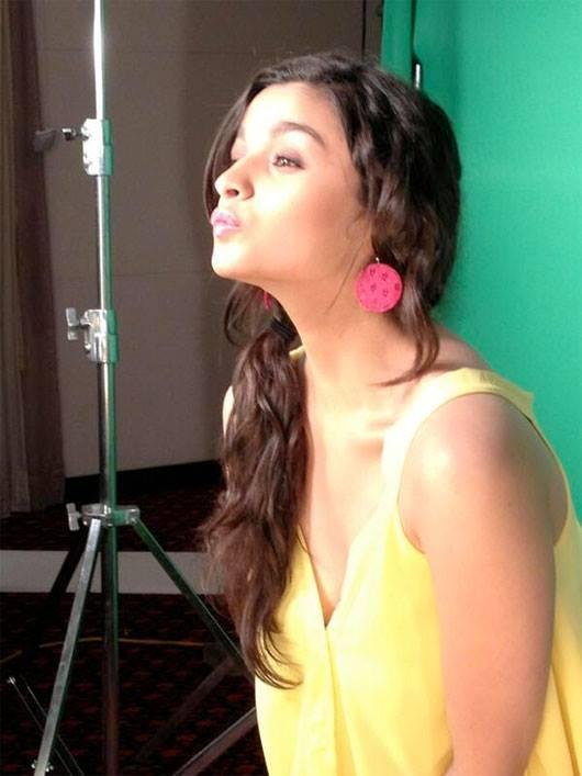 Alia Bhatt Cute And Cool Face Look Still