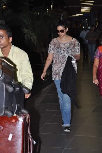 Rhea Kapoor Returns Back From her Sister Sonam Birthday Celebrations In Paris