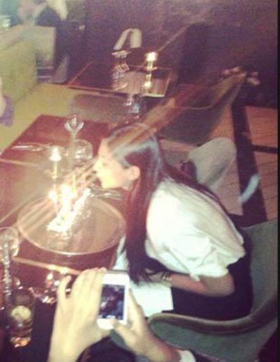 Sonam Kapoor Blows The Candle In Her 28th Birthday At Paris