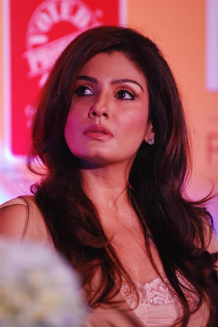 Raveena Tandon Endorses Riso Rice Bran Oil In Mumbai