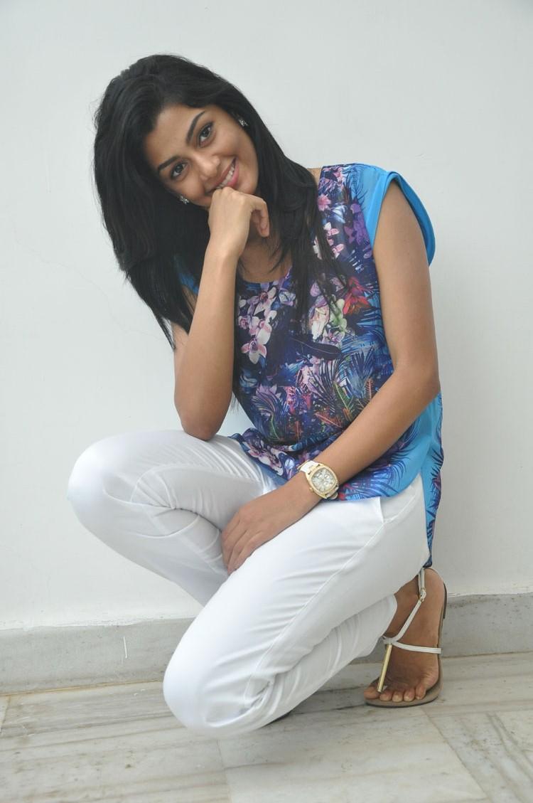 Anisha Ambrose Strikes A Pose During Pressmeet Of Areyrey