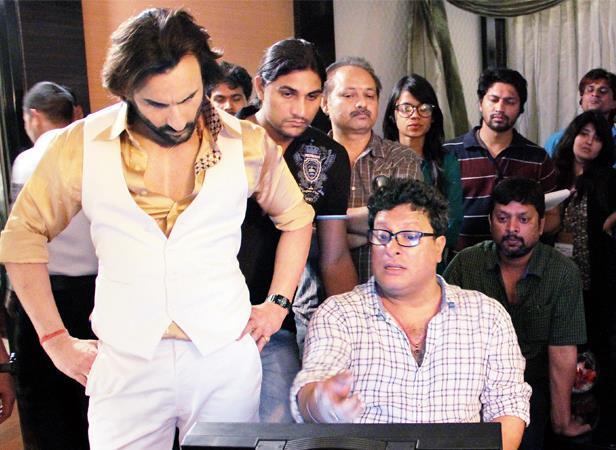 Saif Ali Khan Present On The Sets Of Bullet Raja